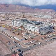 Sobre el 64 por ciento de avance registra la construcción del Hospital de Alto Hospicio