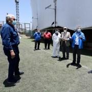 Comitiva realizó visita inspectiva a estadio Tierra de Campeones, para verificar obras de avance