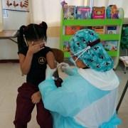 Vacunación escolar en Tarapacá supera cifras nacionales. En Cesfam administran la dosis para quienes no se han inmunizado