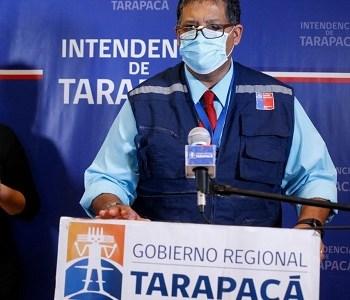 Autoridades presentan medidas adicionalespara reforzar la cuarentena en Iquique y Alto Hospicio