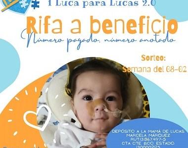 """""""Pymes Unidas por Lucas""""  realiza rifa para sumar más apoyo a la campaña de recolección de recursos para adquirir millonario medicamento"""