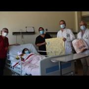 En su hogar, en el pueblo de La Tirana, nació el primer bebé del 2021