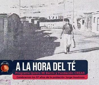 """""""A la Hora del Té"""", nuevo programa de conversación en vivo, que debutó con los 57 años  de la """"Jorge Inostroza"""