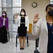 Desde la Corte de Apelaciones de Iquique, juran como abogados ocho nuevos profesionales