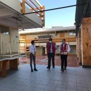 Salud entrega a la IMI dos colegios que fueron habilitados como estadías sanitarias transitorias