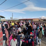 Inician evacuación masiva de emigrantes enColchane. Unos 900 extranjerosirán a otras comunas
