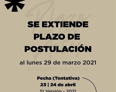 Amplían plazo de postulación para la Plaza de Las Artes, que este año se realizará en su quinta versión.