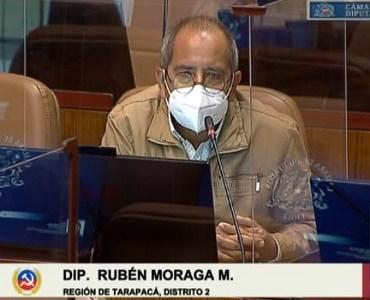 """Diputado Rubén Moraga y su rechazo a la propuesta presidencial: """"Estado de excepción y toque de queda han limitad libertades democráticas"""""""