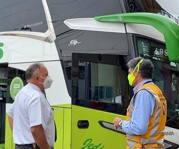 Anuncian refuerzo de fiscalizaciones a buses interurbanos e inspección de pasajeros durante la Semana Santa