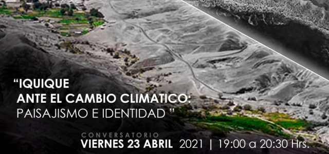 """""""Iquique ante el Cambio Climático: Paisajismo e Identidad"""" en Conversatorio con destacados arquitectos paisajistas"""