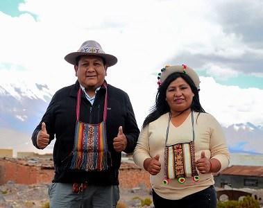 """Wilfredo Bacian, candidatoconstituyente del pueblo quechua: """"Debiésemos poder decidir y definir nuestras prioridades de desarrollo"""""""
