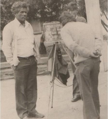 Relato de vecina de Población Caupolicán, rescata el legado de su padre, Eduardo Espinoza, fotógrafo y practicante