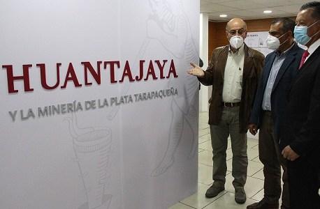 """Expo """"Huantajaya y la minería de la plata"""" pone en valor historia patrimonial y cultural del ex mineralde Alto Hospicio"""
