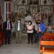 Buscan dar solución a problemas de conectividad vial a pobladores de Laonzana y al retraso de obras de reconstrucción de sede social