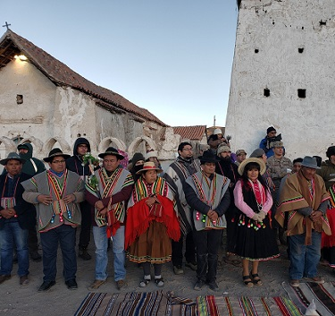 En el poblado ceremonial de Isluga se celebrará el Machaq Mara con todas las medidas de bioseguridad que se requieren en fase 4
