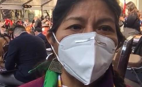 """Alejandra Flores por Presidencia de Convención: """"Valoro reconocimiento a pueblos originarios """"históricamente postergados, olvidados y discriminados"""""""