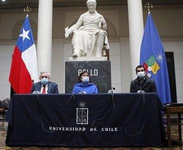 """Mesa Directiva de la Convención: """"Si las condiciones no están, vamos a sesionar en la Universidad de Chile"""""""