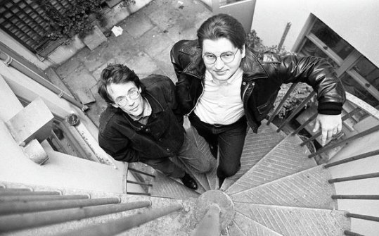 william-gibson-and-bruce-sterling-martyn-goodacre