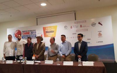 Por primera vez el Congreso Internacional de la Carne, se realizará en Mazatlán, Sinaloa