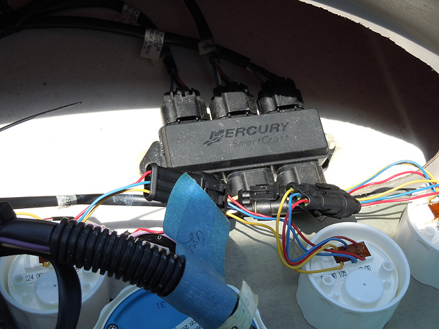 mercury wiring harness diagram 1991 jeep cherokee laredo smartcraft mercmonitor: a critical review | boatblog... the christina rose