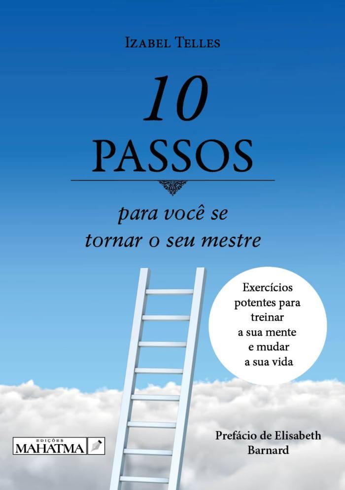 livro izabel tellez comprar online 10 Passos para você se tornar o seu mestre