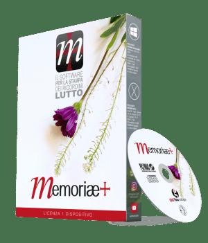 Pacchetto DVD Memoria+ il Software per la stampa dei ricordini pagelline luttofunebri