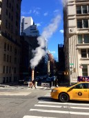 Steamy New York streets