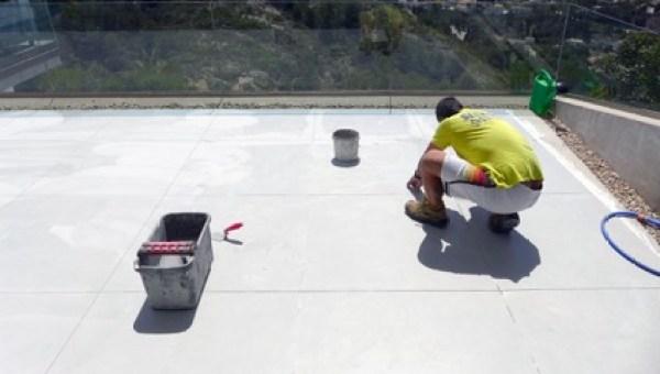 Reparación terraza exterior