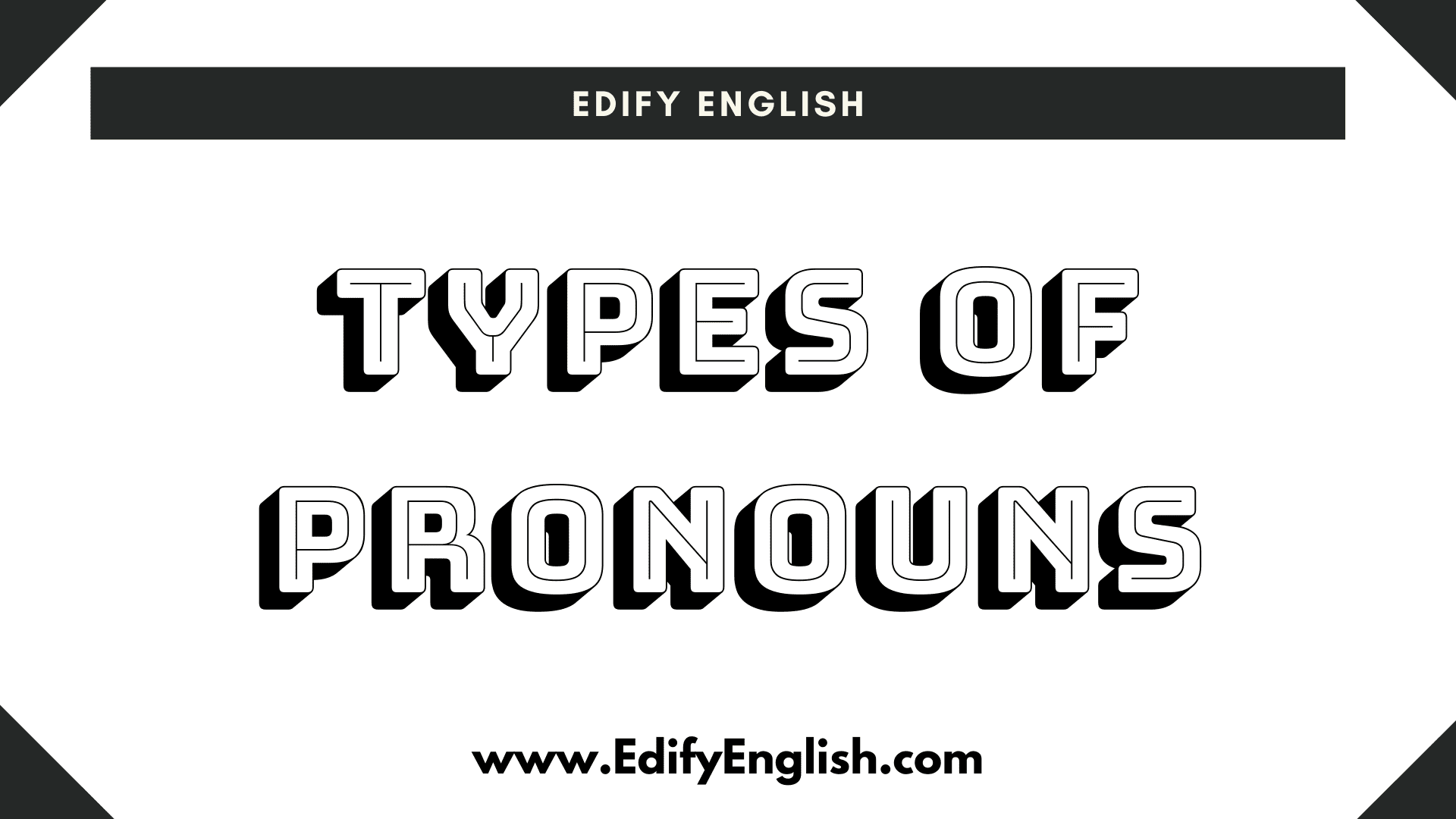 Types of Pronoun