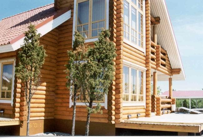 Le case in legno  edilizia ecologica