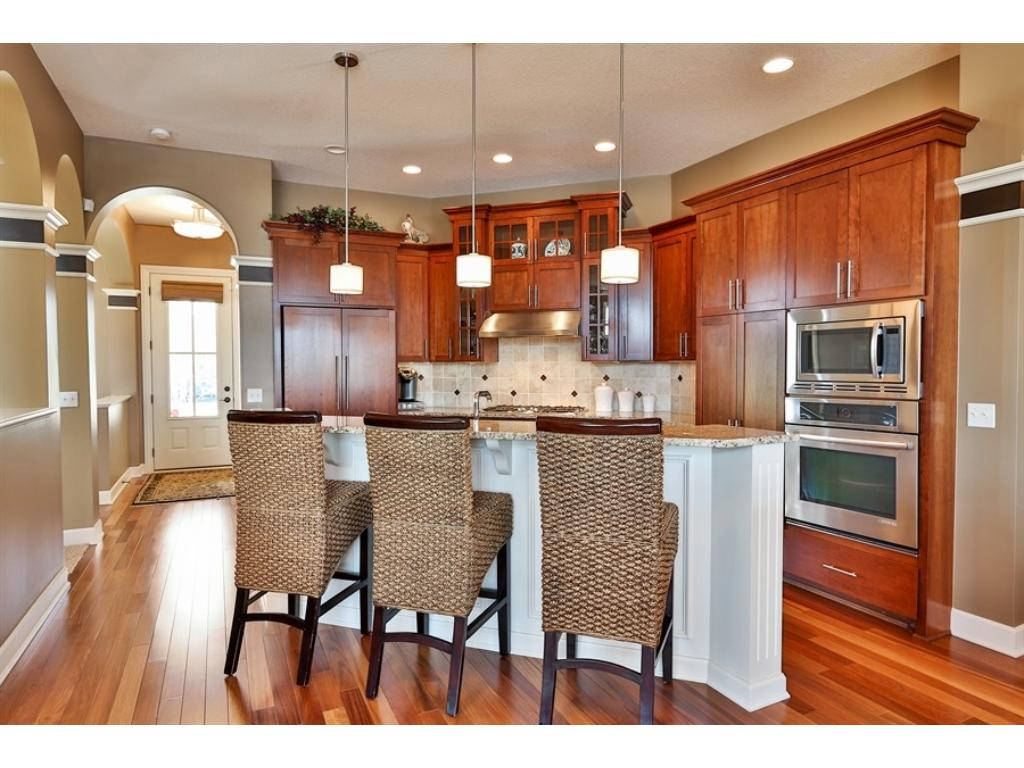 apple valley kitchen cabinets island dimensions 15857 eastbend way mn 55124 mls 4826815