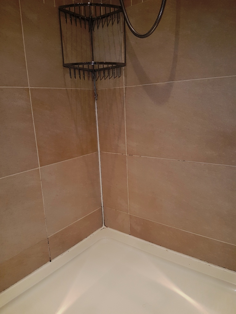 how to clean porous ceramic tile shower