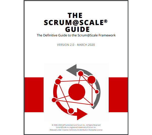 Scrum@Scale Guide Front Cover