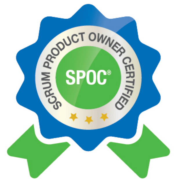 Scrum Product Owner Certified (SPOC) Badge