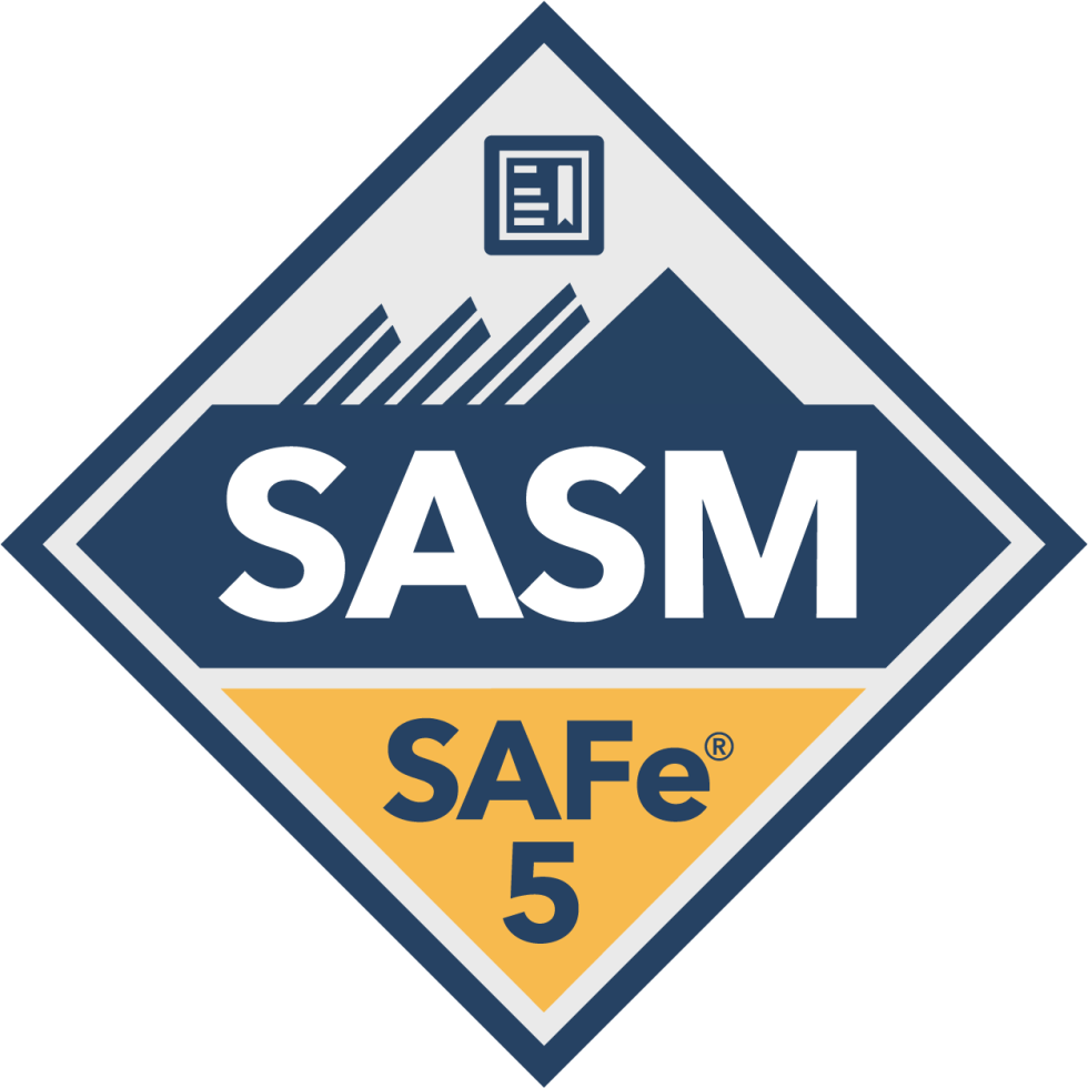 SAFe Advanced Scrum Master SASM Badge