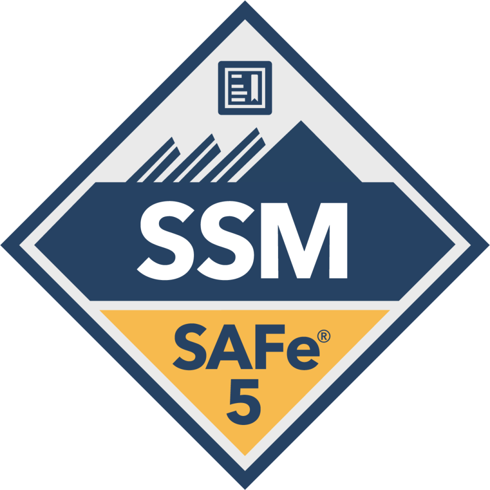SAFe Scrum Master SSM Badge