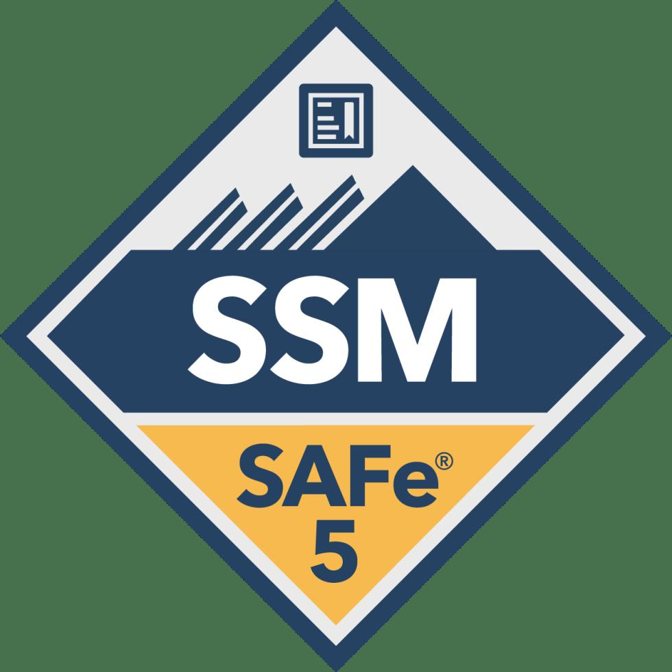 SAFe Scrum Master SSM Badge
