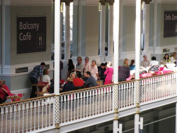Balcony Caf National Museum Of Scotland Edinburgh