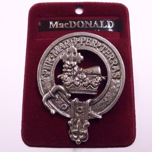 Clan Crest Cap Badges
