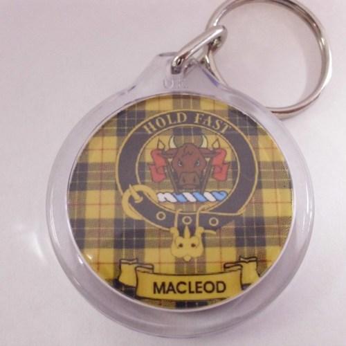 Clan Crest Key Rings Mac