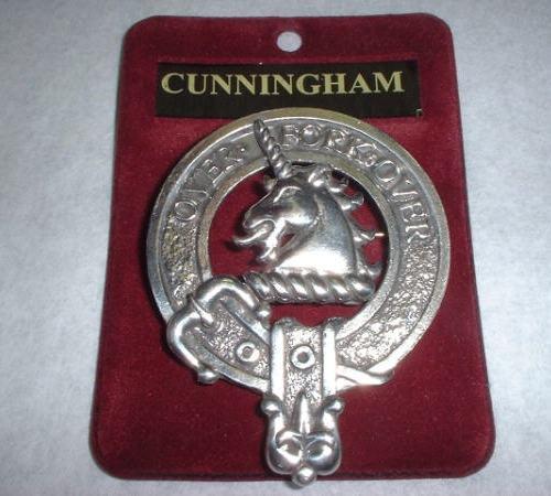 Clan Crest Cap Badges A to L
