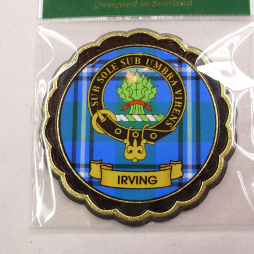 Clan Crest Fridge Magnet E to L