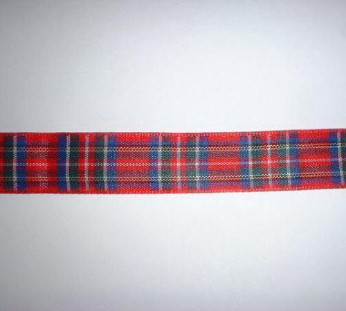 Tartan Ribbon 16mm Width