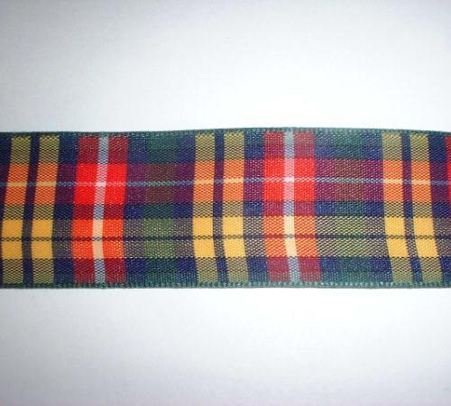 Tartan Ribbon 25mm Width