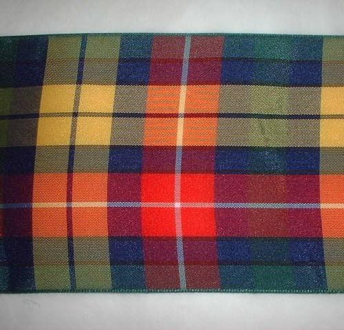 Tartan Ribbon 75mm Width