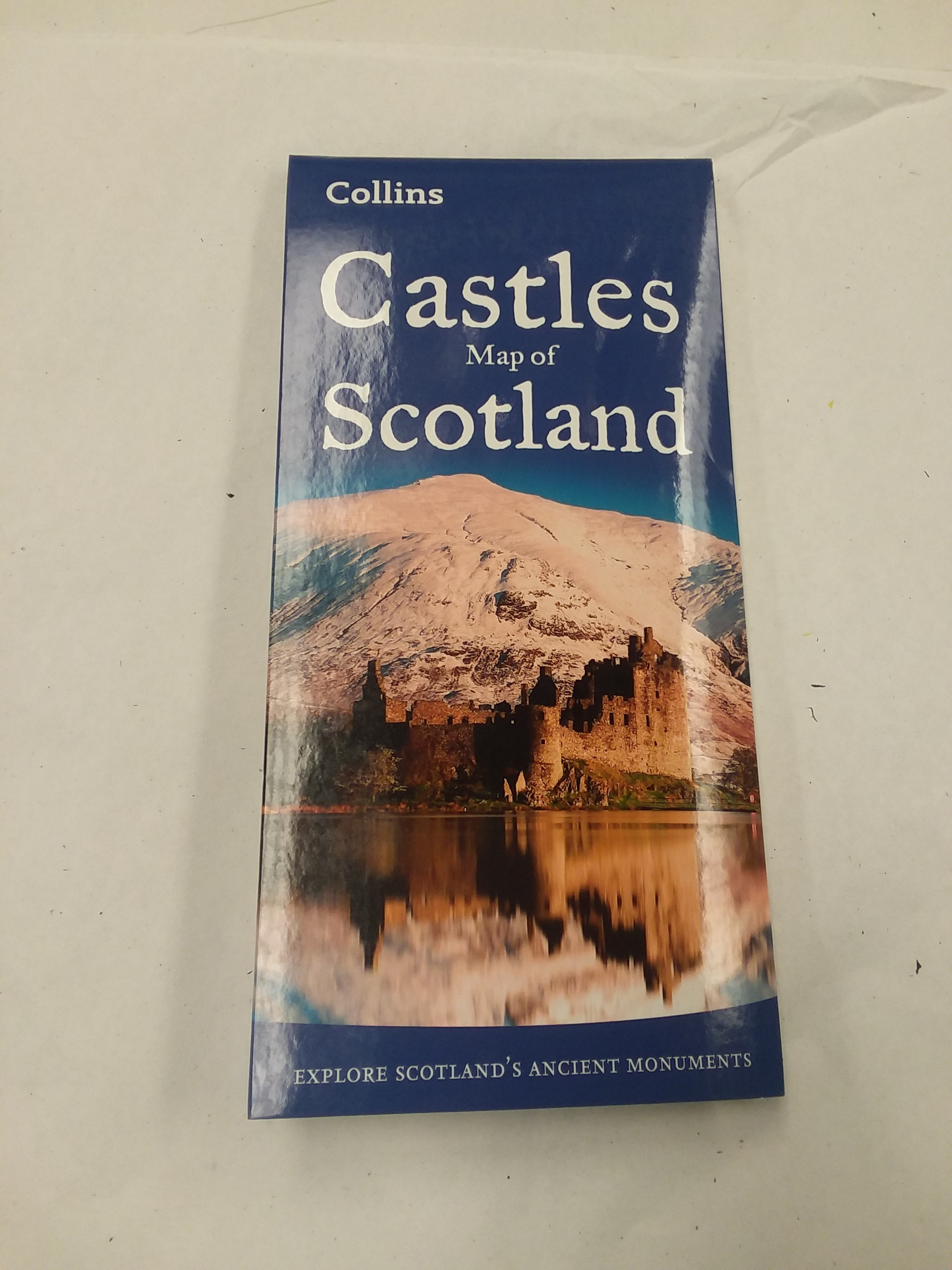 Castles Map of Scotland on