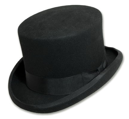 English Topper Top Hat