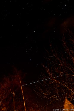 ISS Underscores Orion