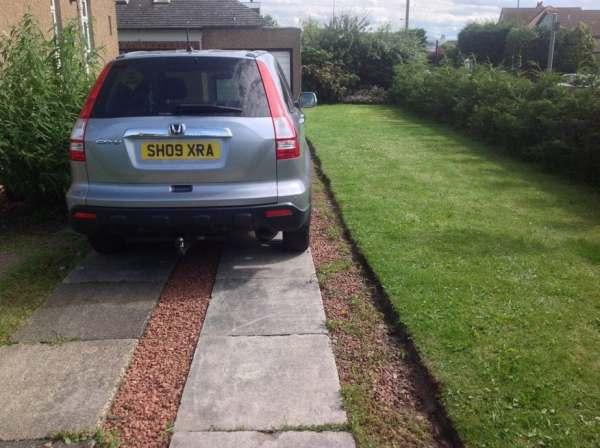 driveway, corstorphine, edinburgh