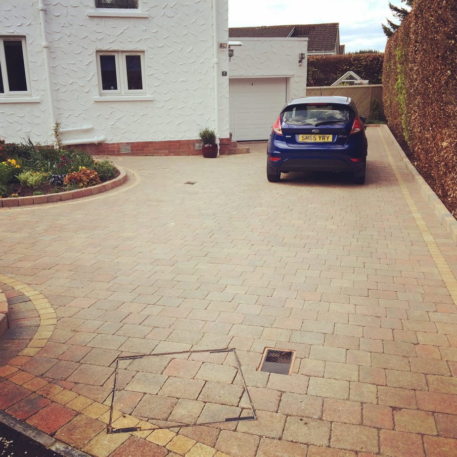 tegula driveway in edinburgh